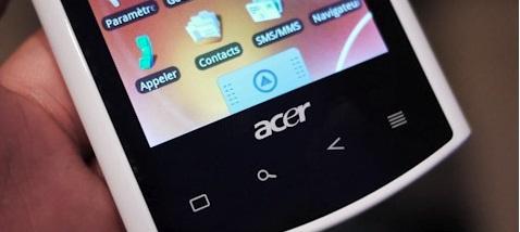 Android 2.2 (Froyo) porté sur Acer Liquid