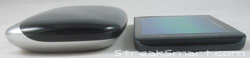 Logitech diNovo Mini : Un clavier physique pour votre tablette Dell Streak 5