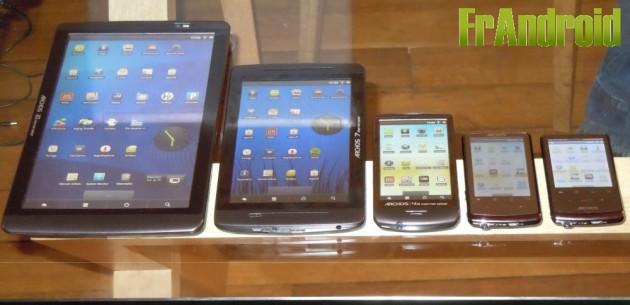 Archos Gen 8 : La mise à jour vers Android FroYo (2.2) est disponible !