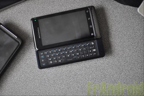 Test du Motorola Milestone 2 sous Android