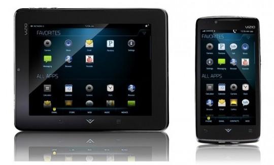 Vizio annonce sa gamme VIA : un smartphone et une tablette sous Android