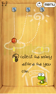 Un nouveau jeu sur Android : Rope Cut, un clone de Cut the Rope