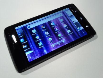 Test du Dell Streak sous Android