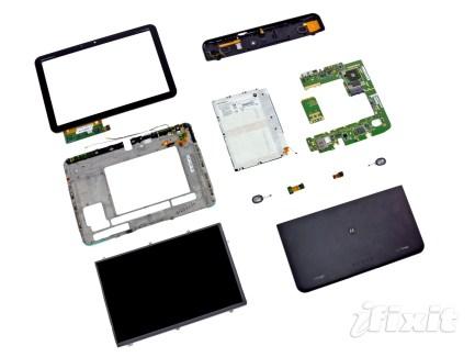 Au tour de la Motorola Xoom d'être démontée…
