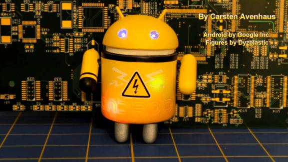 Les robots mécanisés Android sont prêts à envahir la Terre (ou presque)