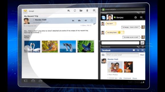 Cornerstone va proposer un vrai multitâche : plusieurs applications sur un même écran
