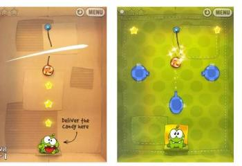 Cut the Rope est enfin disponible sur Android via GetJar