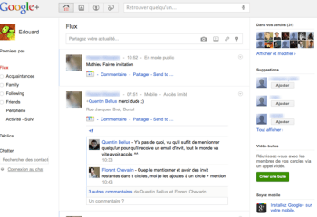 Google lance son concurrent à Facebook : Google+