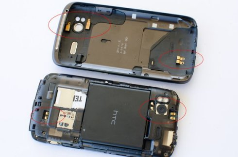 Le HTC Sensation est-il victime du même syndrome que l'iPhone 4 ?
