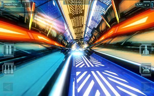 T-Racer HD : un jeu de course dans un univers futuriste, à la Wipeout