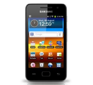 Samsung Galaxy S WiFi 3.6 : un baladeur numérique (PMP) sous Android