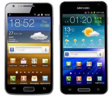 Samsung Galaxy S2 LTE et LTE HD annoncés en Corée du Sud