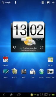 La tablette HTC Flyer (32Go Wi-Fi + 3G) passe à Honeycomb