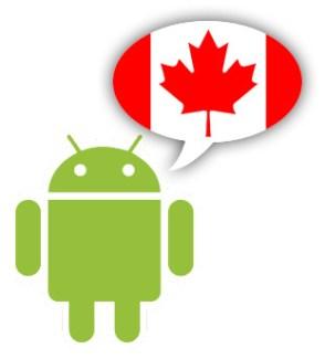 Android n'est pas populaire au Québec