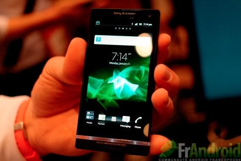 CES 2012 : Prise en main du Sony (Ericsson) Xperia S (LT26i)