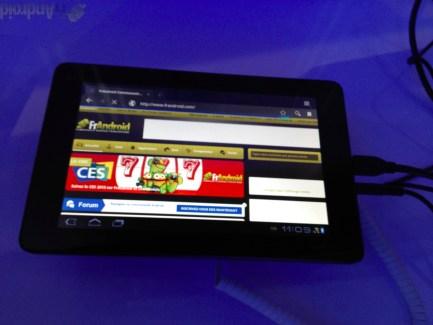 CES 2012 : Aperçu de la tablette Huawei MediaPad de 7 pouces