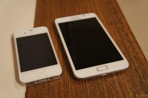 Prise en main du Samsung Galaxy Note en blanc