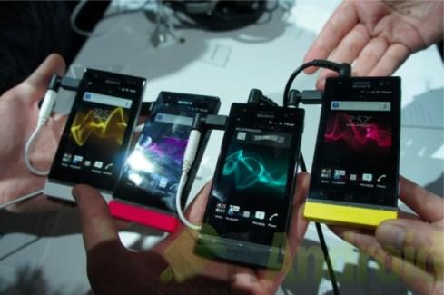 MWC 2012 : Prise en main du Sony Xperia U