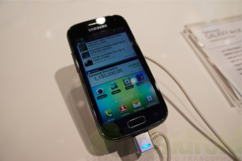 Prise en main du Samsung Galaxy Ace 2