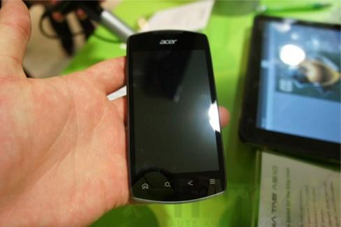 MWC 2012 : Prise en main du Acer Liquid Glow