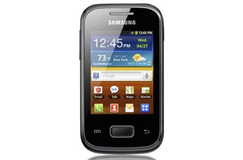 Samsung dévoile le Galaxy Pocket sous Android 2.3