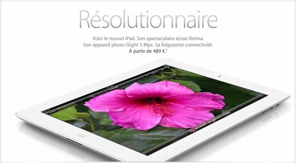 Test de l'Apple Nouvel iPad chez Les Ardoises