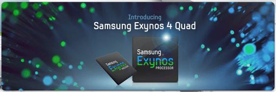 Samsung officialise son SoC Exynos 4 Quad (Exynos 4412)