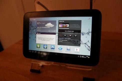 Test de la Samsung Galaxy Tab 2 7.0