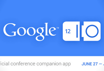 L'application officielle du Google I/O 2012 est disponible sur le Play Store