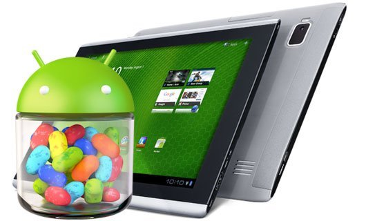 Les Acer Iconia Tab A110, A200, A510 et A700 passent sous Jelly Bean