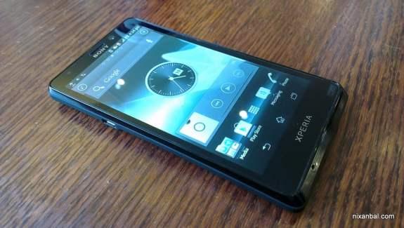 Les premières photos du Sony Xperia T (Mint - LT30)