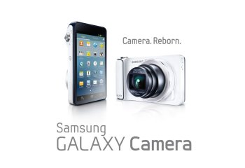 Samsung Galaxy Camera, un appareil photo de 16 mégapixels avec un zoom 21x, sous Android Jelly Bean