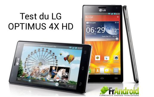 Test du LG Optimus 4X HD en partenariat avec le Geek Expert de LDLC