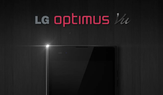 Le LG Optimus Vu arrive timidement en France