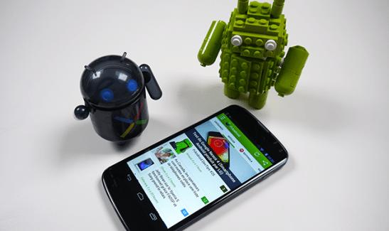 Test vidéo du prototype du LG Nexus 4