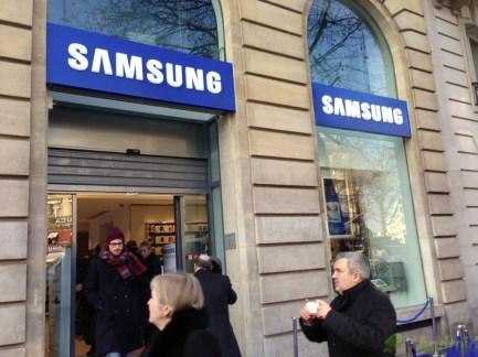 Visite guidée du Samsung Store de Madeleine (Paris)