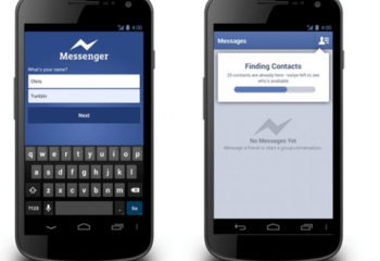 LeWeb'12 : Facebook Messenger accessible sans compte « Facebook »