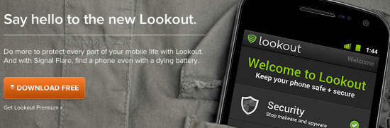 LeWeb'12 : LookOut sera pré-intégré par Orange