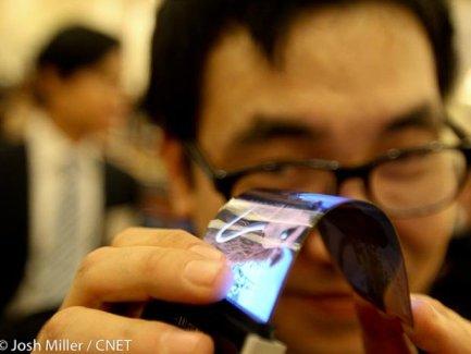 Samsung : les écrans flexibles refont parler d'eux chez le Note III