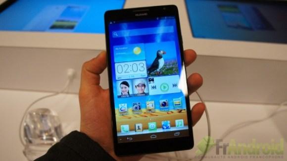 CES 2013 : Prise en main du Huawei Ascend Mate