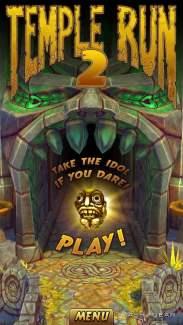 Temple Run 2, la version Android disponible sur Google Play