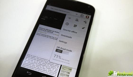 Présentation de la nouvelle version d'Opera pour Android