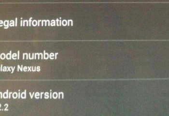 Android 4.2.2 se confirme également sur Galaxy Nexus