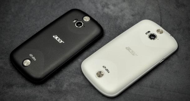 Prise en main du Acer Liquid E1 Duo, du milieu de gamme à 199 euros «nu»
