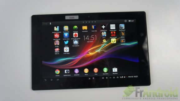 Test de la Sony Xperia Tablet Z (SGP321)