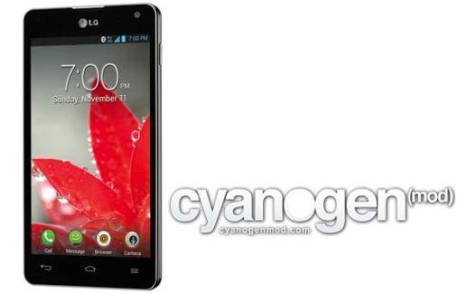 CyanogenMod 10.1, Android 4.2.2 arrive sur le LG Optimus G