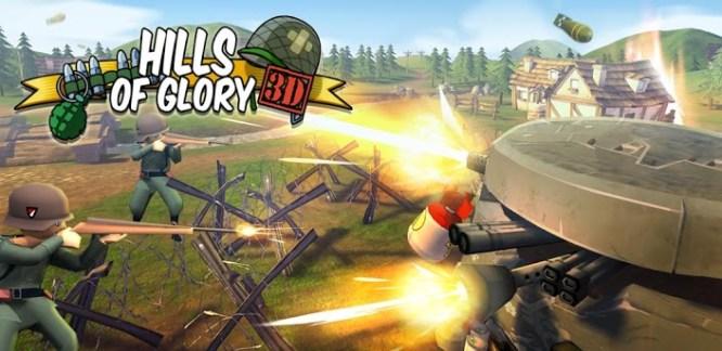 Hills of Glory 3D, un tower defense aux allures de