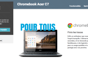 Chromebook Acer C7 en vente sur le Google Play, une bonne affaire en perspective ?