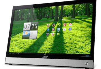 Un All-in-One Android avec processeur Intel pour Acer ?
