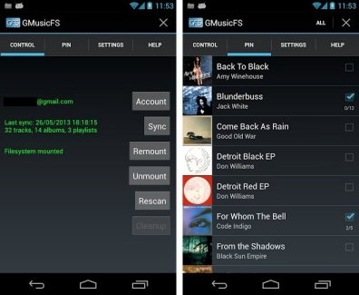 [root] GMusicFS, écouter sa collection Google Music sur n'importe quel player